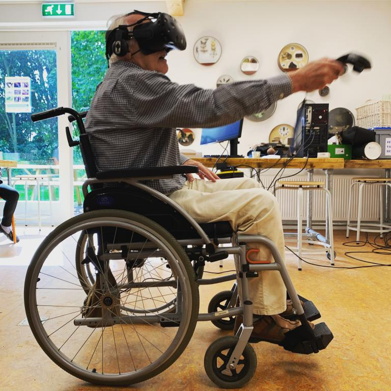 Virtual reality games voor ouderen